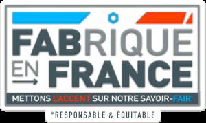 Fabriqué en France, mettons l'accent sur notre savoir-Fair* *Responsable & Équitable.
