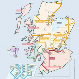 carte whisky Ecosse