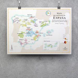 mapa de los vinos de espana