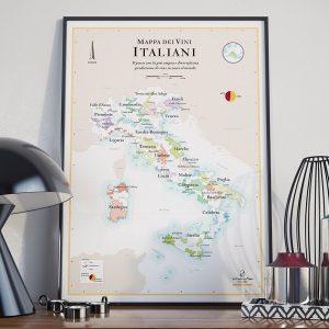 mapa dei vini italiani