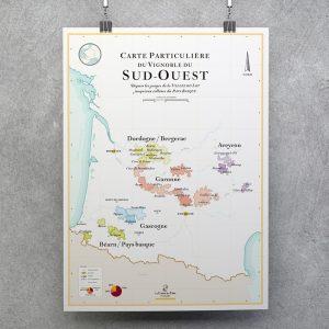 carte des vins du Sud-Ouest