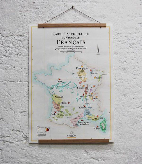 carte des vins, carte des vins france