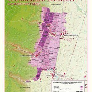 carte des vins chambolle musigny et de morey saint denis