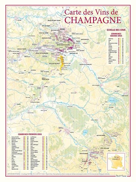 carte des vins de champagne