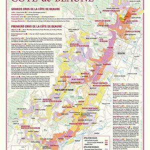 carte des vins de la cote de beaune