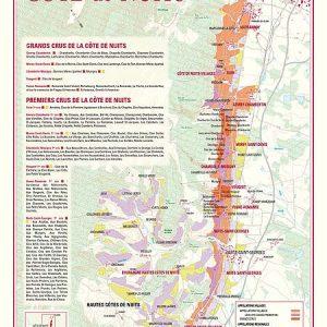 carte des vins de la cote de nuits