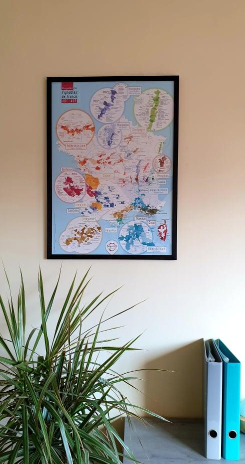 Carte des vins, Géovitis