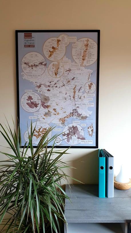Carte des vins, géovitis Elegante