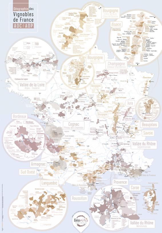 E-Boutique des cartes des vins de France / Collection Cadeau /cartes des vins de france.fr