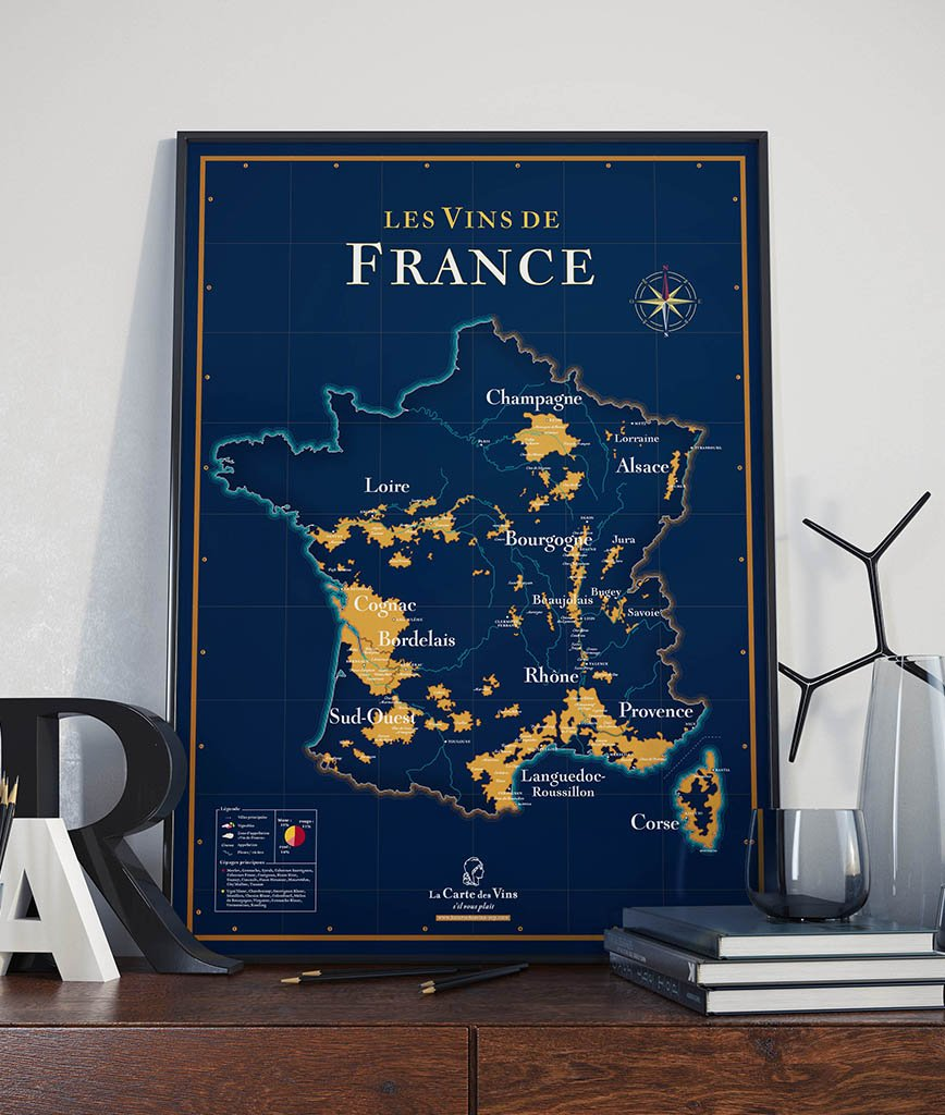 carte-vins-france-collector-poster
