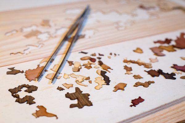Carte des vins en bois pièces