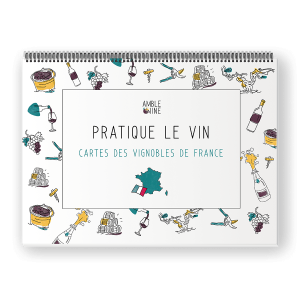 Book Pratique le vin, Cartes des vignobles de France