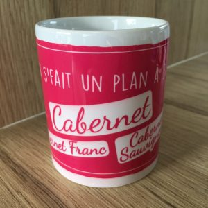 Mug 350ml CABERNET Collection Les Cépages