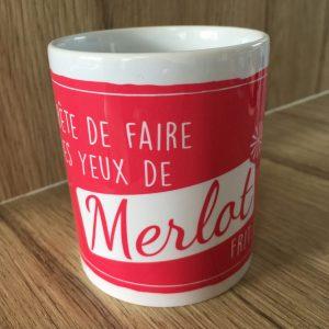 Mug 350ml MERLOT Collection Les Cépages