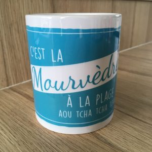 Mug 350ml MOURVÈDRE Collection Les Cépages