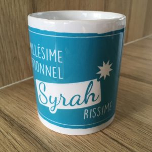 Mug 350ml SYRAH Collection Les Cépages