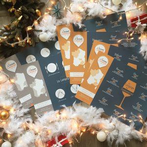 Offre Noël Sets de table L'instant Langage Couverts et Sommelier