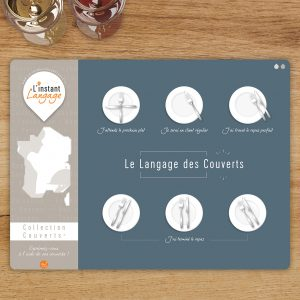 Set de table Le Langage des Couverts - N°2