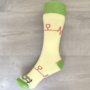 Chaussette Sommelier Socks - Jaune et Verte
