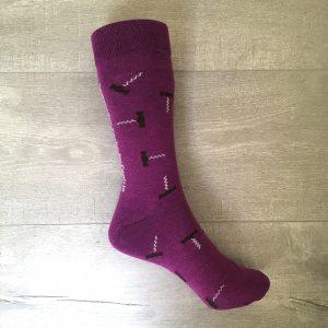Chaussette Sommelier Socks - Violette